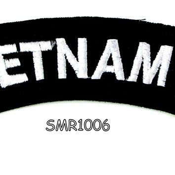 Vietnam 69 American Veterans Small Military rocker style military patche