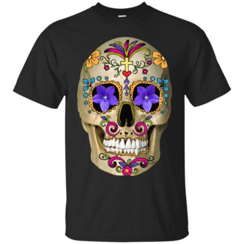 the mexican calavera halloween T-Shirt