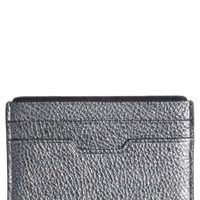 rag & bone Textured Buffalo Leather Card Case | Nordstrom