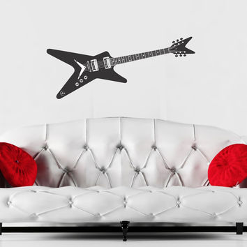 Guitar wall decal Dimebag Darrell inspired