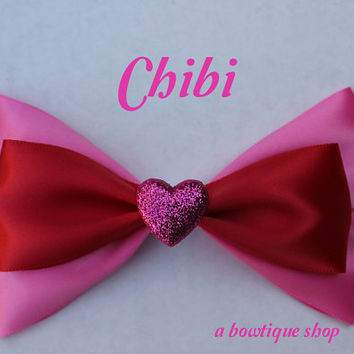 chibi hair bow