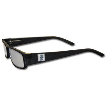 Seattle Mariners Black Reading Glasses +2.50