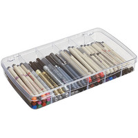 ArtBin Prism 6-compartment Clear Craft Box | Overstock.com Shopping - The Best Deals on Scrapbooking Organizers