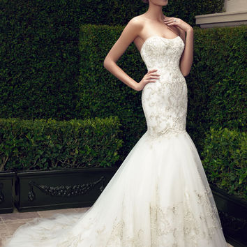 Casablanca Bridal 2197 Mermaid Wedding Dress