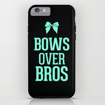 Bows over Bros Cheer Tiffany iPhone & iPod Case by RexLambo