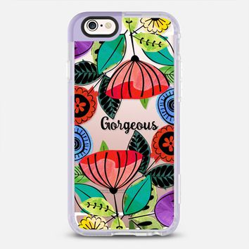 Gorgeous clear floral iPhone 6s case by Famenxt | Casetify