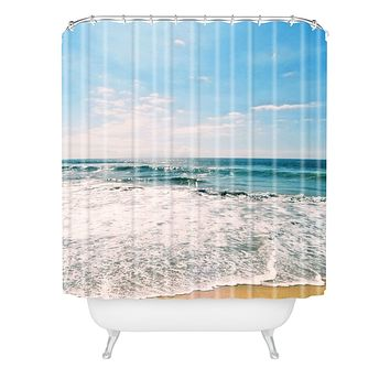 Lisa Argyropoulos Take Me There Shower Curtain