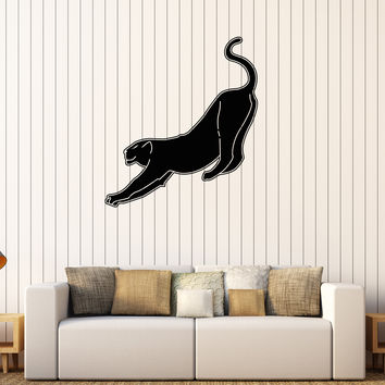 Vinyl Wall Decal Panther Predator Animal Tribal Stickers Mural Unique Gift (601ig)