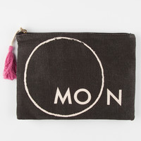 Moon Pouch Black One Size For Women 27479710001