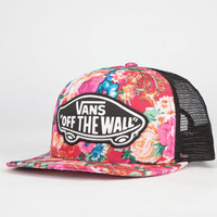 Vans Attendance Womens Trucker Hat Multi One Size For Women 22863195701