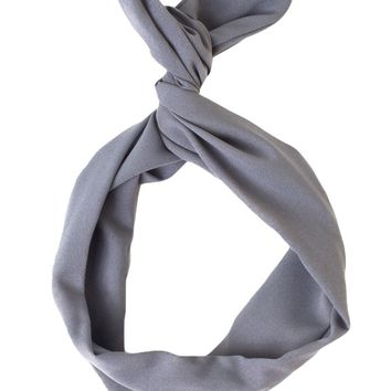 rsa0506ps - Poly Silk Twist Scarf