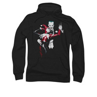 Harley Quinn And The Joker Mens Pullover Hoodie