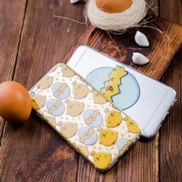Clear | Chicken iPhone Case