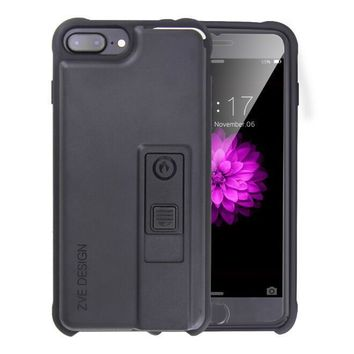 One-nice™ Creative personality iphone6s lighter iphone case 7 plus open bottle opener smoke proof protective