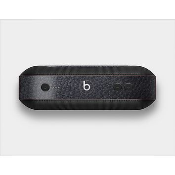 The Black Leather Skin Set for the Beats Pill Plus