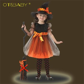Christmas Girls Party Dress Carnival Princess Prom Dress Kids Tutu Clothes Ball Gowns Kids Infant Dress Children Cosplay Costume
