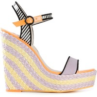 Sophia Webster 'lucita' Wedge Sandals - Soho-soho - Farfetch.com
