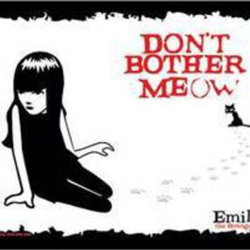 Emily the Strange-Don't Bother Meow