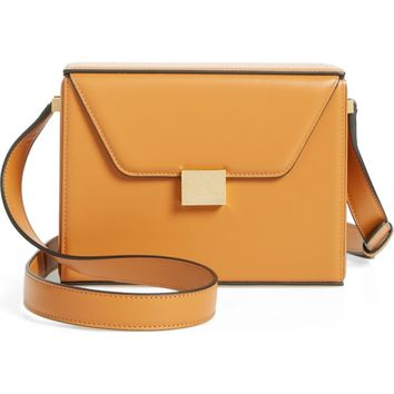 Victoria Beckham Vanity Calfskin Leather Box Bag | Nordstrom