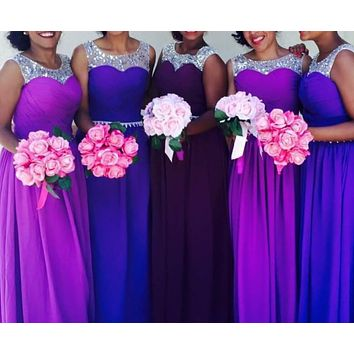 0105 light purple royal blue sweatheart appliques skirt prom girl evening dress long maxi plus size fashional design