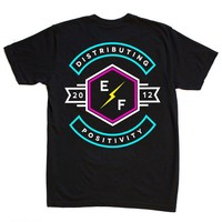 Distributing Positivity T-Shirt | Electric Family Clothing