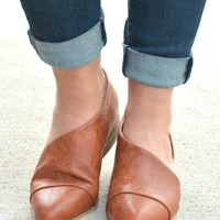 Can't Resist Booties - Cognac