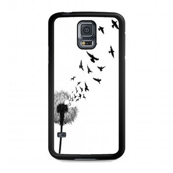 dandelion bird tattoo For samsung galaxy s5 case