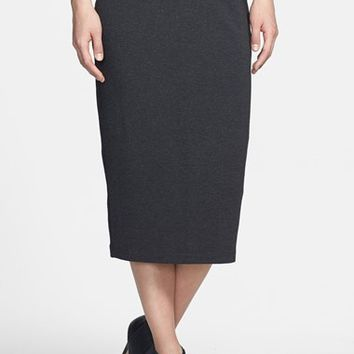 Women's Eileen Fisher Foldover Straight Midi Skirt,