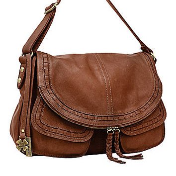Lucky Brand Modesto Stash Flap Cross-Body Bag
