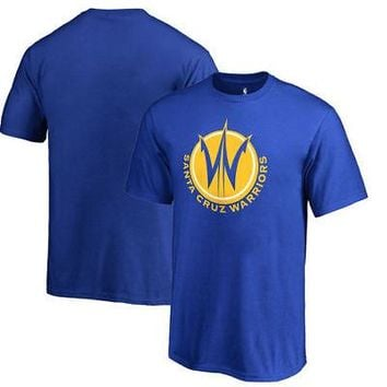 Licensed Sports Santa Cruz Warriors Fanatics Branded Youth Primary Logo T-Shirt - Royal KO_20_2
