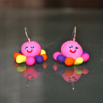 Squidgy Earrings