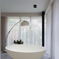 "Aquatica PureScape 69"" x 41"" Freestanding AquaStone Bathtub"