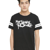 My Chemical Romance Logo Athletic T-Shirt