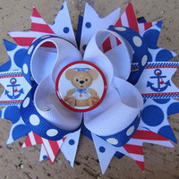 Duffy the Disney Bear Vacation Disney Cruise Lines DCL Boutique Hair Bow