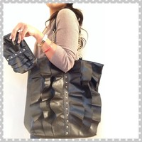 Cute glam & ruffles bag
