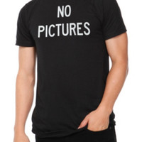 No Pictures T-Shirt