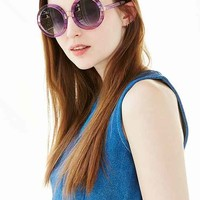 Wildfox Couture Malibu Round Sunglasses