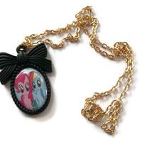My Little Pony Necklace Friendship is by KitschBitchJewellery