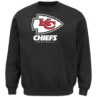 Majestic Kansas City Chiefs Critical Victory VIII Fleece Sweatshirt - Men
