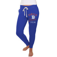 Denver Broncos Junk Food Women's Sunday Sweatpants – Royal Blue
