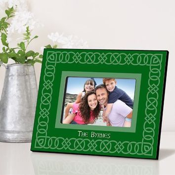 Irish Frame - Celtic Green