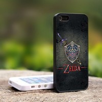 The Legend of Zelda Custom - For iPhone 5 Black Case Cover