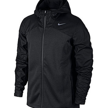 Nike Shield Chainmaille Full-Zip Hoodie - Black