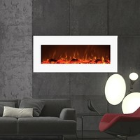 Houston Electric Wall Mounted Fireplace