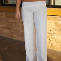 Caribbean Breeze Linen Pants (PREORDER)