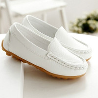 Fashion Casual Oxfords Baby Flats Boat Slip on Child Loafer Shoes For Boys and Girls = 5708809025