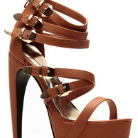 Liliana Tan Abstract Platform Heel