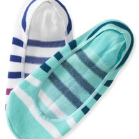Aeropostale  2-Pack Striped No-Show Socks