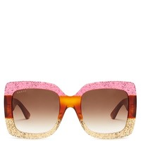 Oversized square-frame sunglasses | Gucci | MATCHESFASHION.COM US