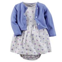 Clothing Sets Spring Newborn Baby Clothes Rompers+Jackets